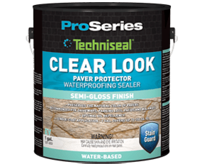 Clear Look Concrete Paver Sealer from Techniseal - EV