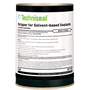 Stripper for solvent-based sealants