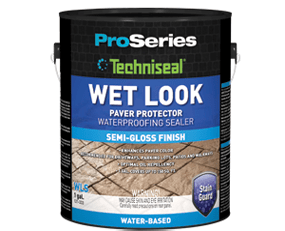 Wet Look Concrete Paver Sealer From Techniseal WLS