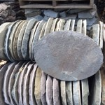 Bluestone Oval Stepping Stones