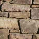 Fieldledge is a hybrid of horizontally oriented fieldstones and ledge stones with heights from 1.5″ to 15″ and lengths from 5″ to 18″. The stone's old world quality and smoother face transitions between a rustic look and an articulated ledge. Fieldledge's color palettes range from cool to warm gray blends. Its sepia base and raw linen color is complemented by subtle khaki-greens and olives, warm ochres, chestnut browns and raw umber.