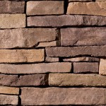 The contemporary look, warmth and texture of Eldorado Stone's Mountain Ledge series is available in a variety of versatile earthen tone palettes. Proportioned to complement fascia accents and custom residences alike, these stones are sized to facilitate selection and reduce installation cost with incremental heights from 1″ to 4″ and lengths from 4″ to 18″.