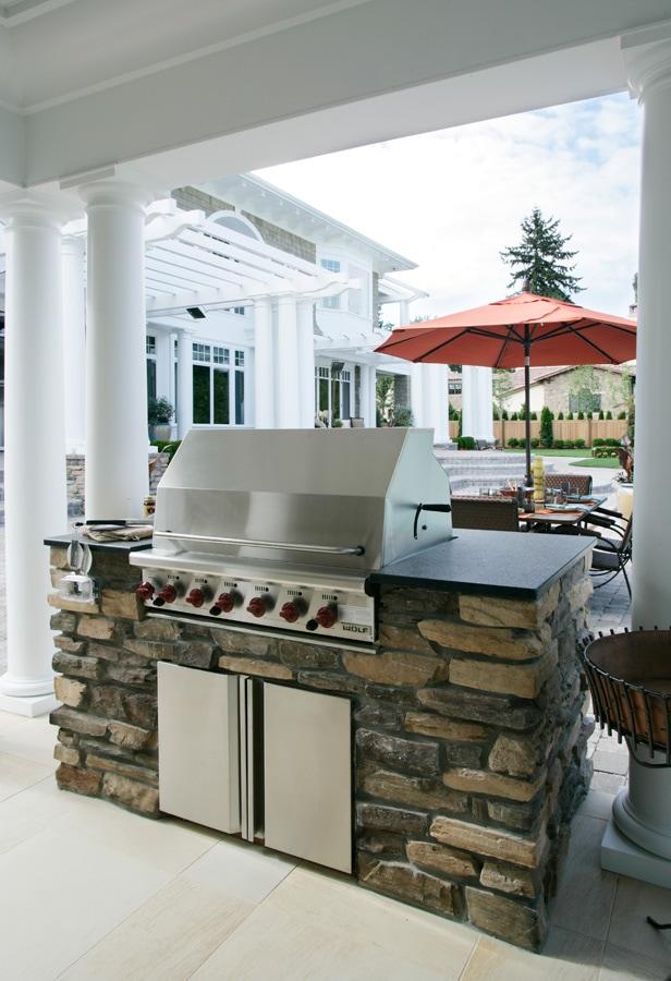 Eldorado Stone Outdoor Kitchen Stone Interior Inspiration