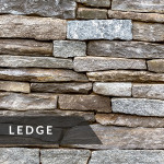 La Pietra Country Fieldstone Collection Ledge