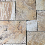 Ella Travertine French Pattern
