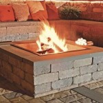 Ideal fire pits are sold by layer (insert separate)