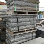 Rockface Bluestone Step