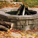 Rosetta Fire Pits are sold as kit (block & insert)