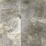 Silver Travertine French Pattern