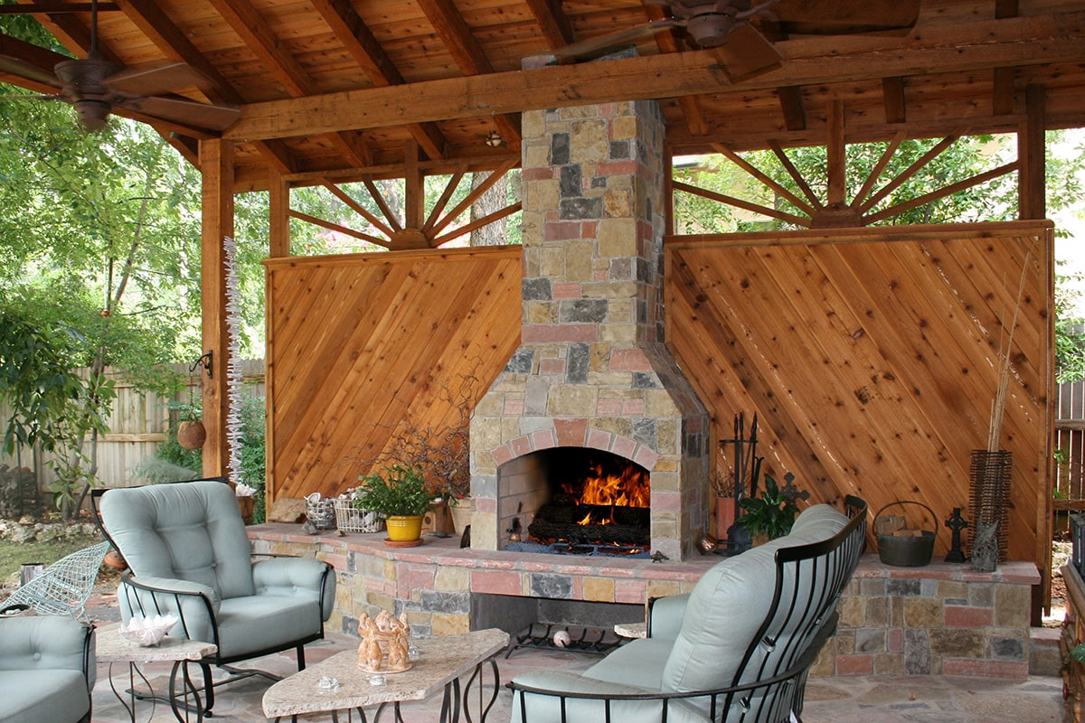 Stone Age Standard Outdoor Fireplace