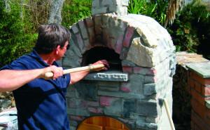 Stone Age Mezzo Pizza Oven in Action