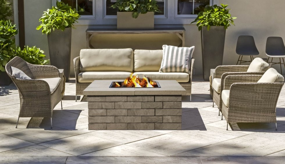 Techo Bloc Fire Pits Are Sold As Kit (block U0026 Insert)