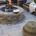 Techo-Bloc fire pits are sold as kit (block & insert)