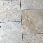 Walnut Travertine French Pattern