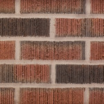 KF Thin Brick 016 Vertical Score Flashed