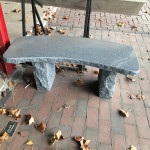 Granite Bench (Curved)