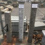 Granite Posts Outdoor Display