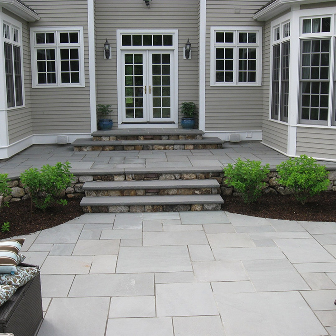 Flagstone and bluestone new england silica inc for Bluestone porch