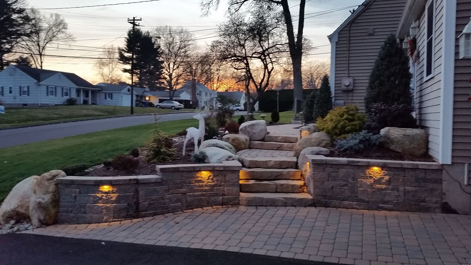 Of The Great Outdoor Lighting And Water Feature Projects Completed With Our Materials Click On Any Image To Enlarge Browse Through Photos