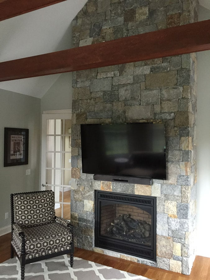 Fireplace Design veneer stone fireplace : Manufactured & Natural Stone Veneers - New England Silica, Inc.