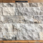 "Silver Travertine 4"" Veneer"