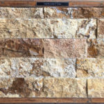"Gold Travertine 4"" Veneer"