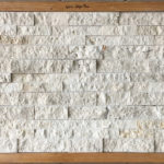 White Travertine Ledger Panel