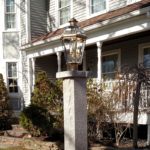 Stanstead Lamp Post with Cap and Aluminum Flange